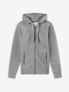 "Sweat Femme zip gris ""Orphée"""