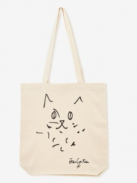 "Tote Bag écru ""Le Chat"""